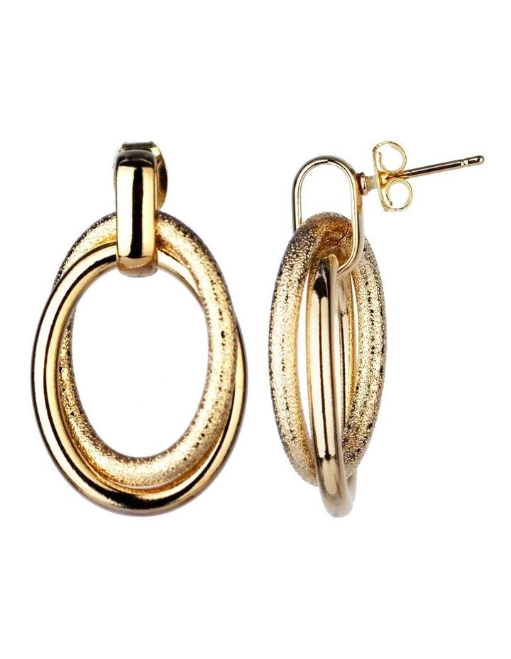 Oval Drop Earrings Earrings image 2