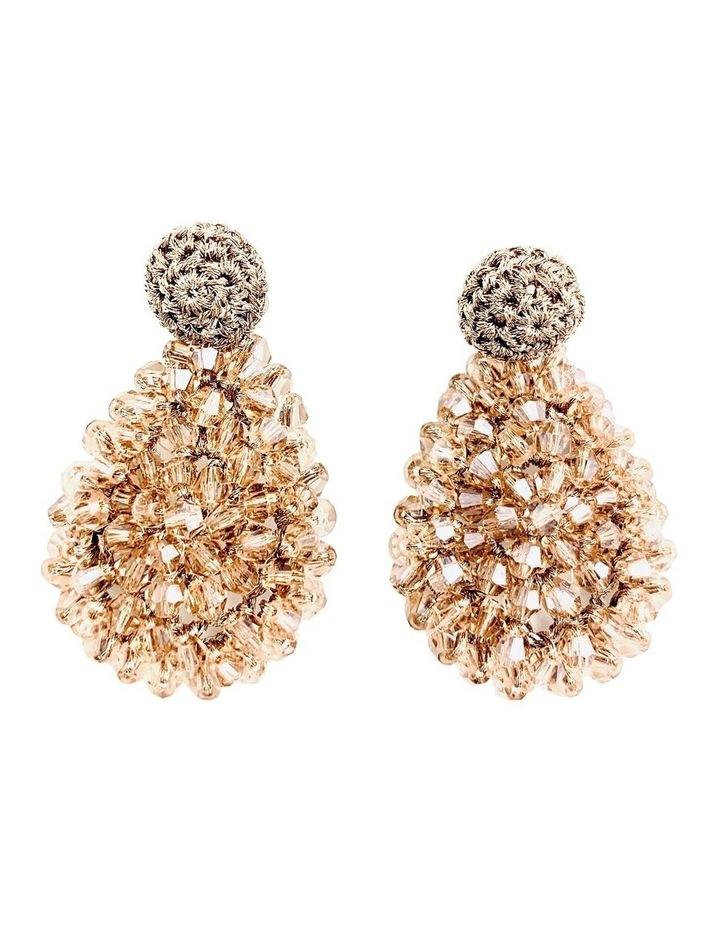 Crochet Cluster Earrings image 1