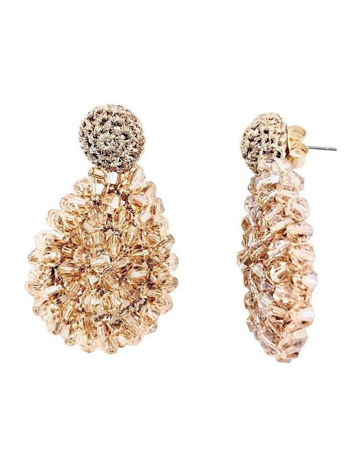 Crochet Cluster Earrings image 2