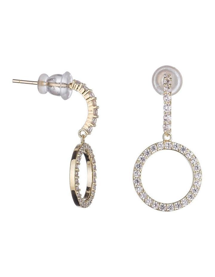 Drop CZ Earrings image 2