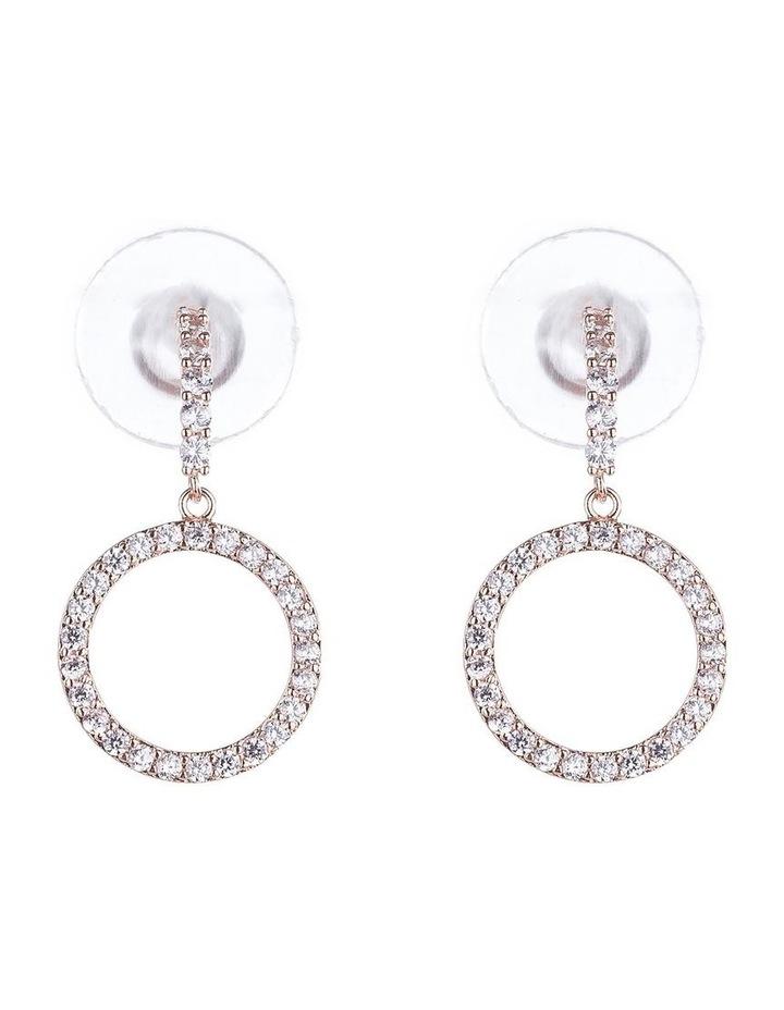 Drop CZ Earrings image 1