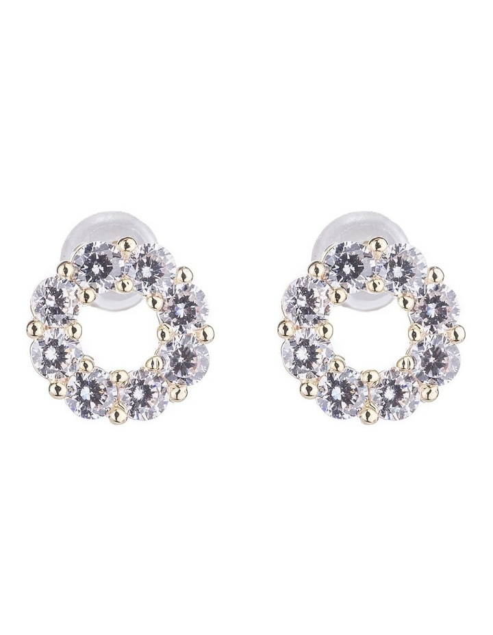CZ Stud Earrings image 1