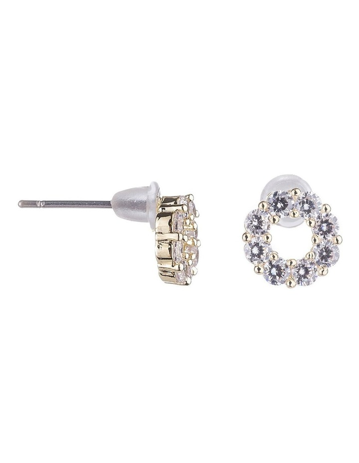 CZ Stud Earrings image 2