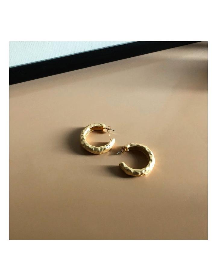 Angelina Hoop Earrings image 2