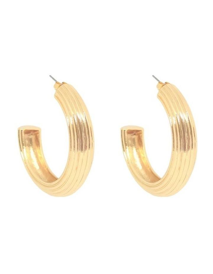 Alessandra Hoop Earrings image 1