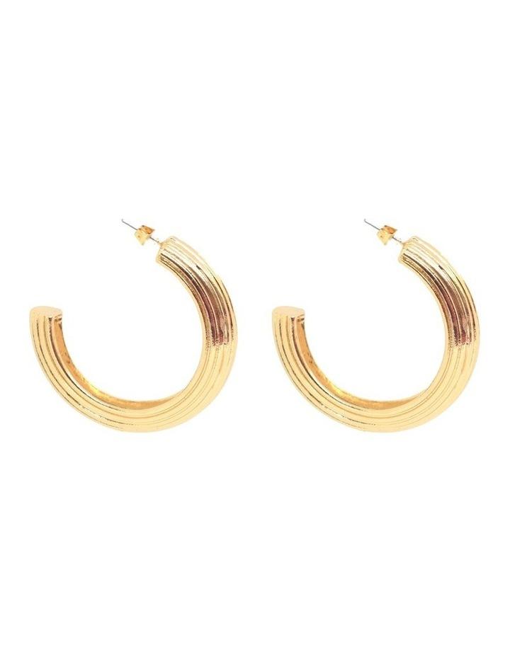 Alessandra Hoop Earrings image 3