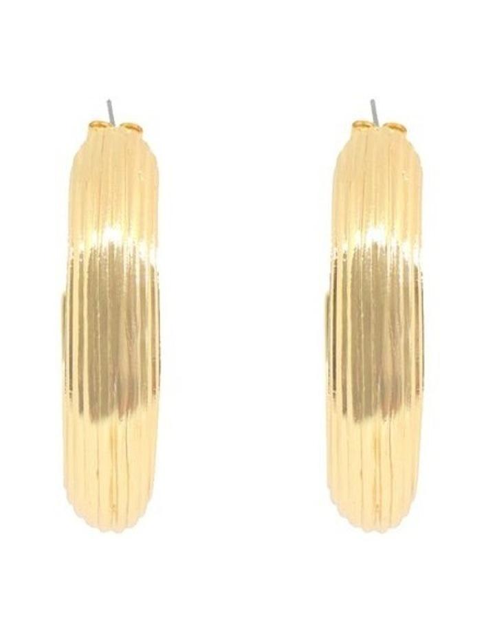 Alessandra Hoop Earrings image 4