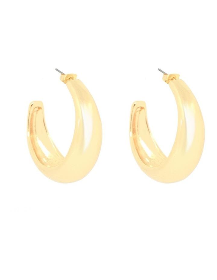 Penelope Statement Hoop Earrings image 1