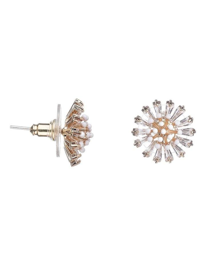 Flower Glass Crystal Earrings image 2
