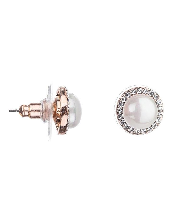Pearl Stud Earrings image 2