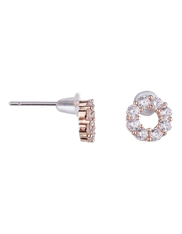 CZ Stud Earrings image 2