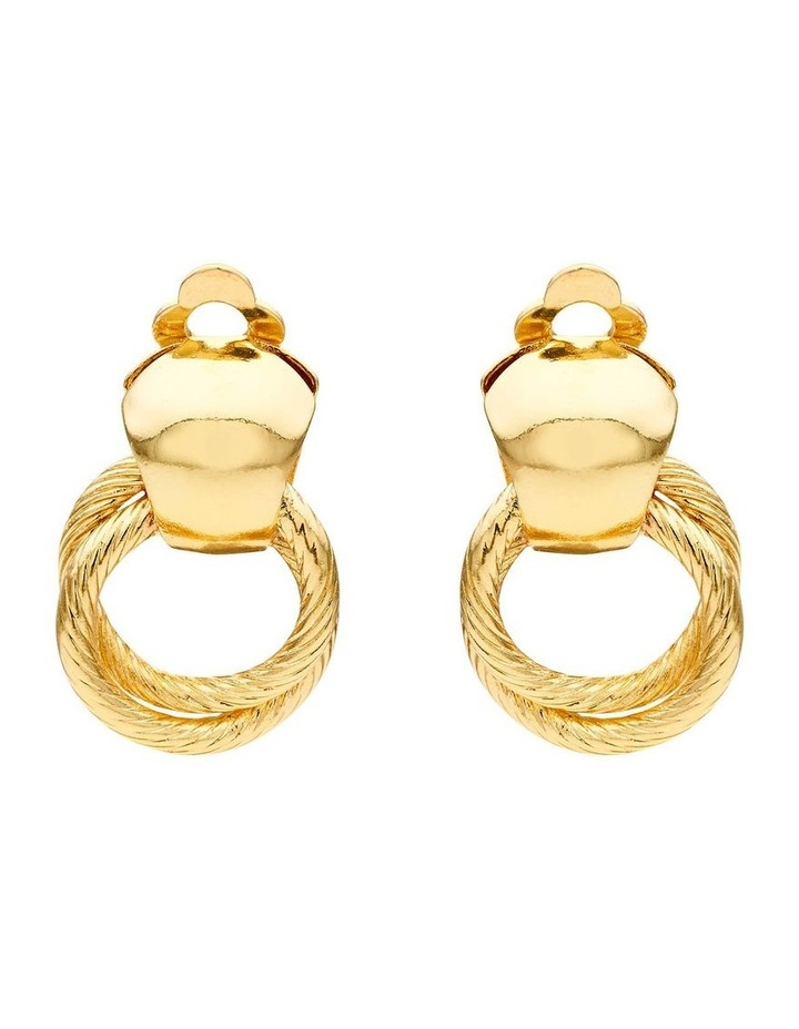 Linked Rings Earring image 1