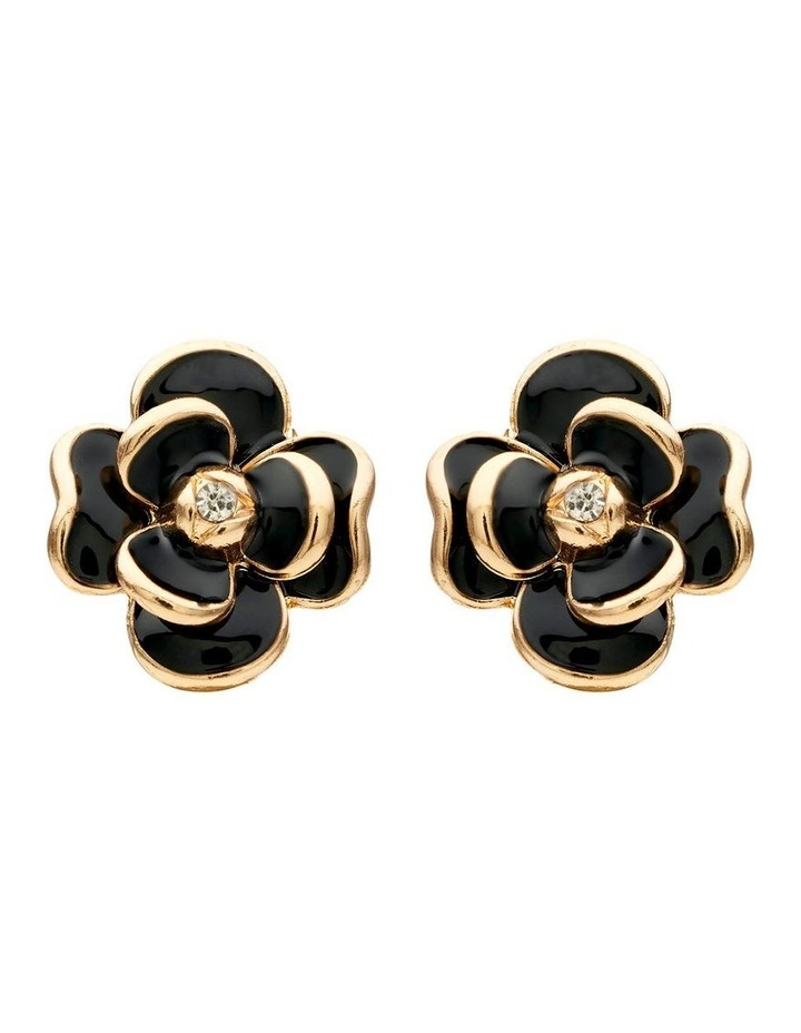 Flower Clip Earring image 1