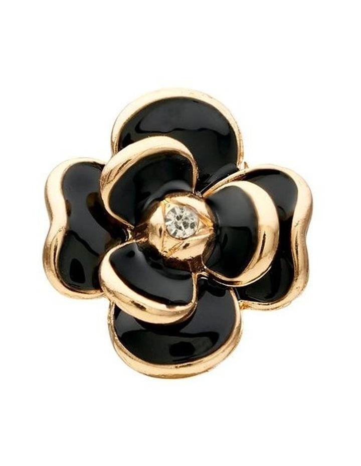 Flower Clip Earring image 3