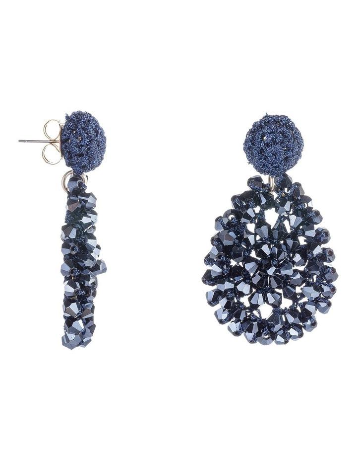 Crochet Clutser Earrings image 2