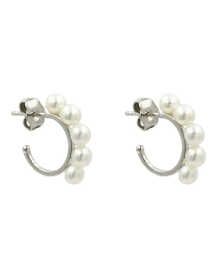 Pearlicious Hoop Earrings image 2
