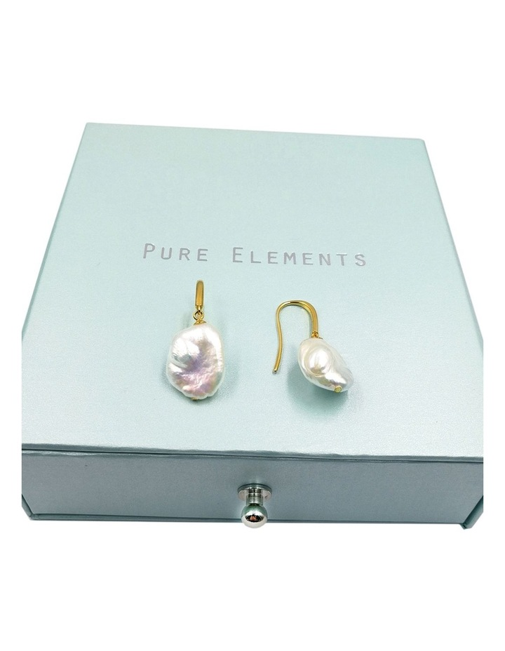Uniquely Baroque Pearl Earrings image 3