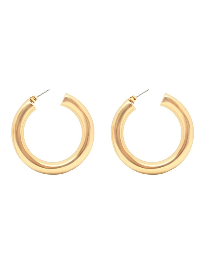 Cicciolina Matte Gold Earrings image 1