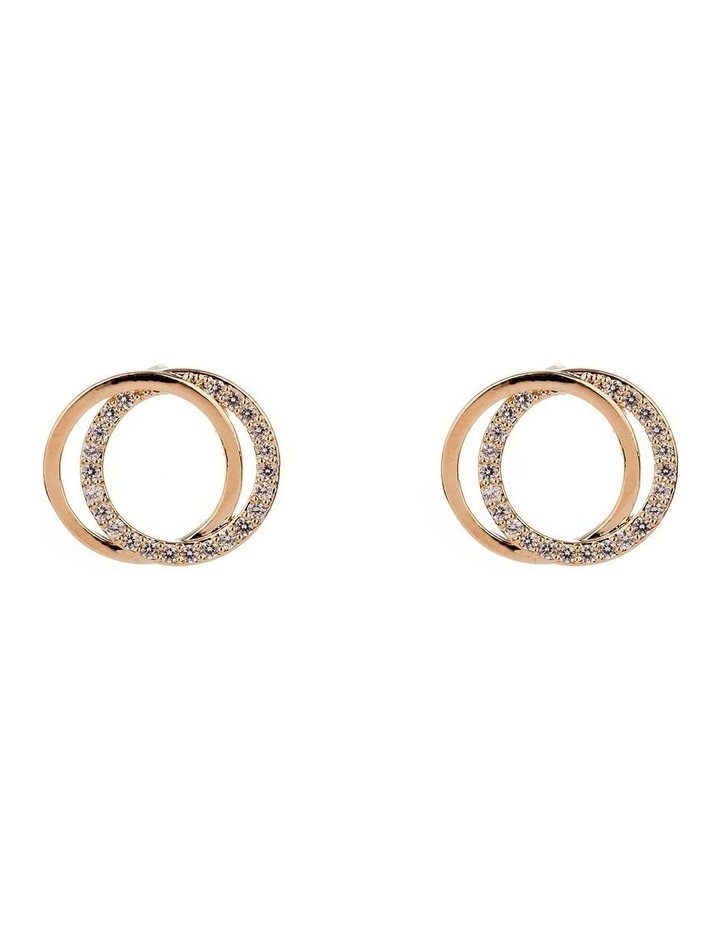 Double Round Micro Cz Rings image 1