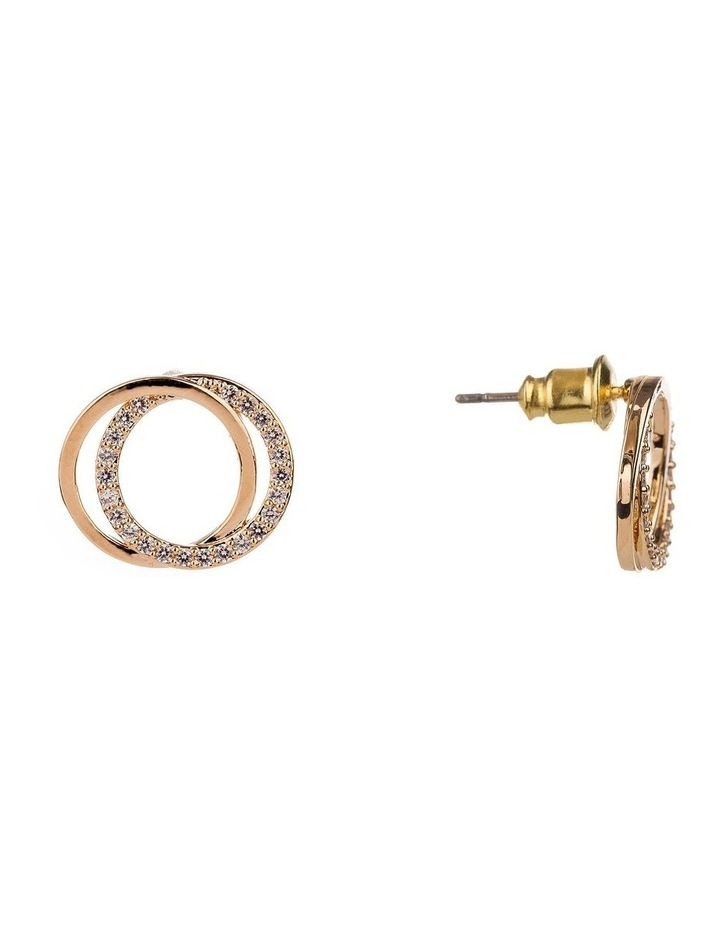 Double Round Micro Cz Rings image 2