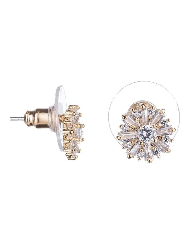 Starburst Cz Earrings image 2