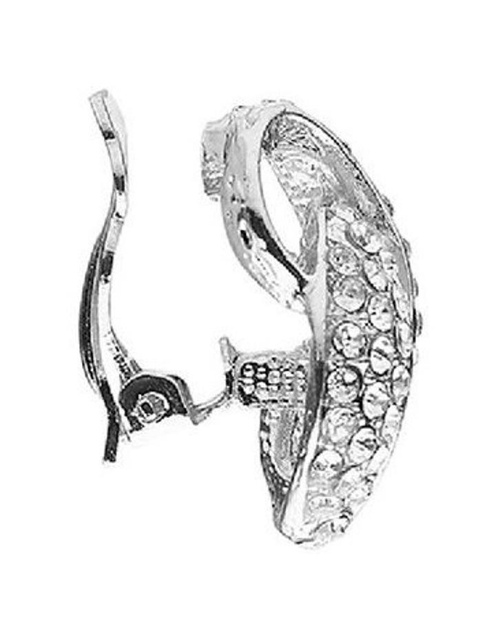 Interlock Crystal Stone Earring image 2