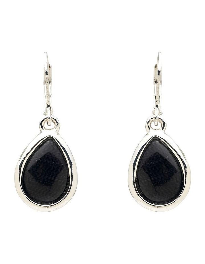 Cateye Stone Drop Earring image 1