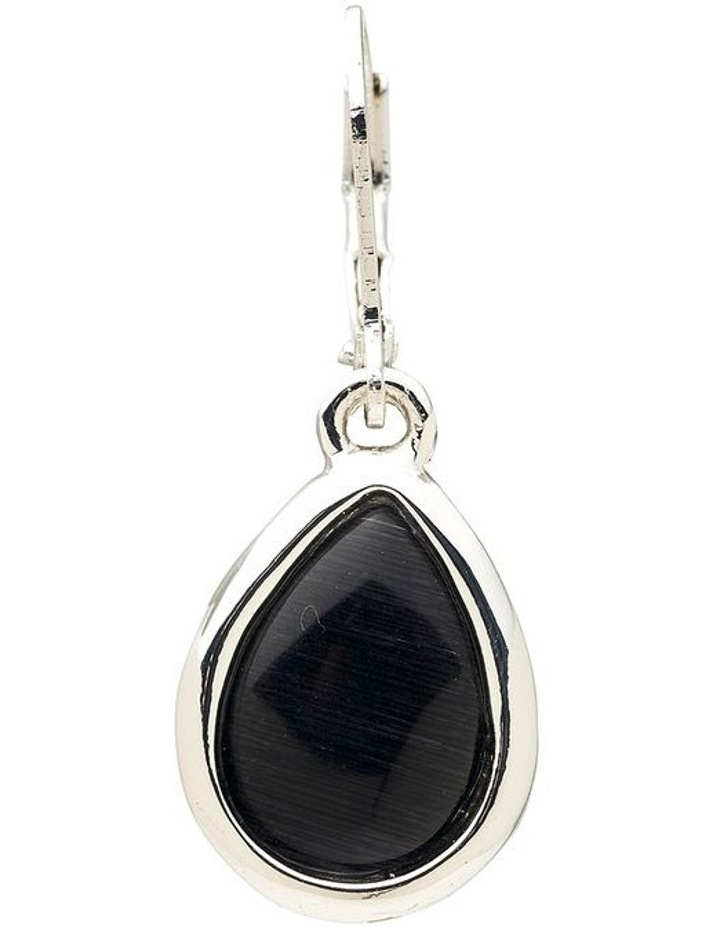 Cateye Stone Drop Earring image 4