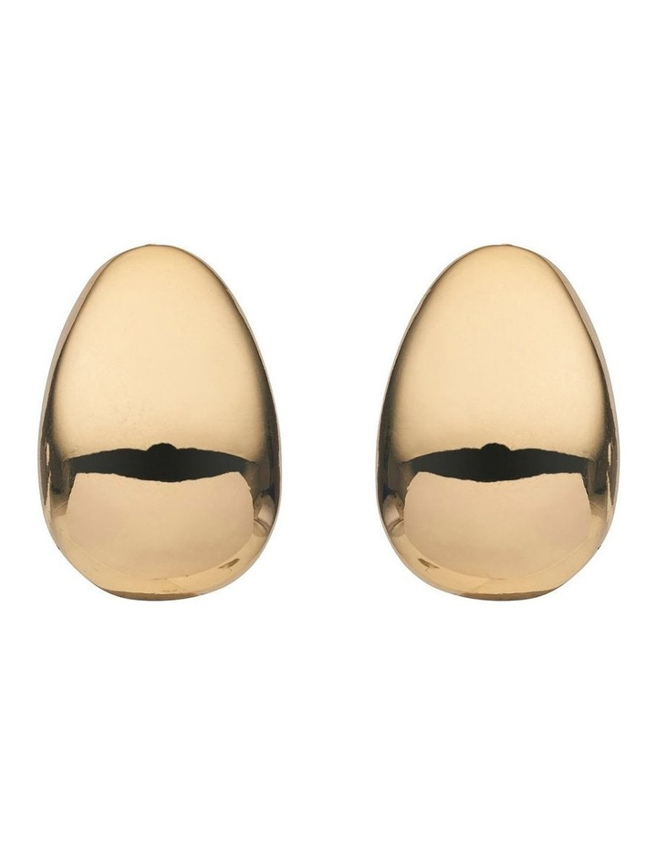 POLISHED CLIP ON EARRINGS image 1