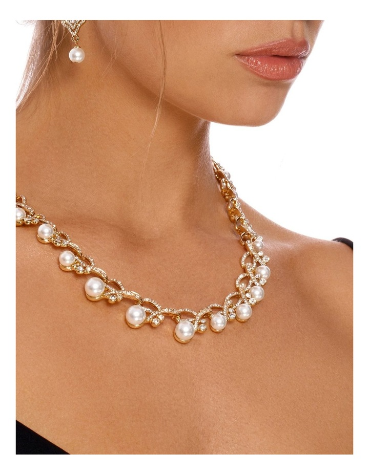 PEARL PAVE CELEBRATION EARRING image 2