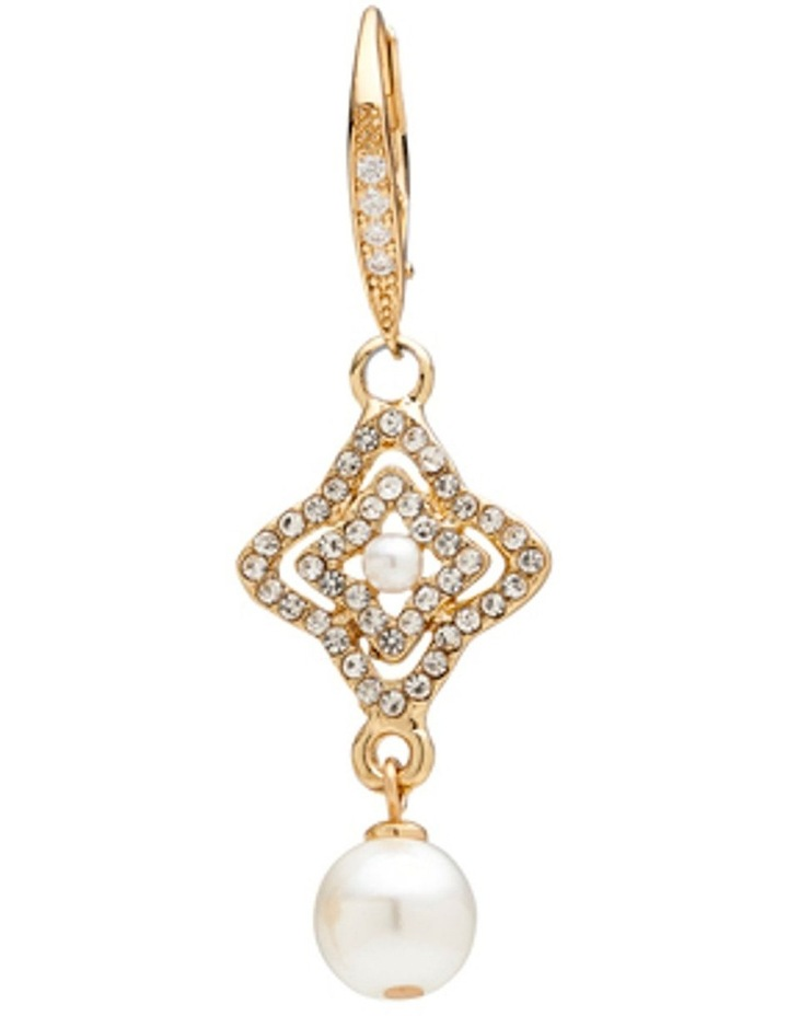 PEARL PAVE CELEBRATION EARRING image 4
