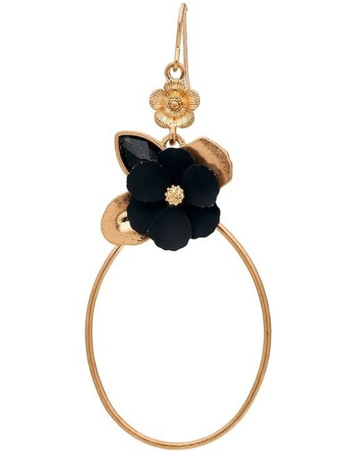 Flower Ring Drop Earring image 3