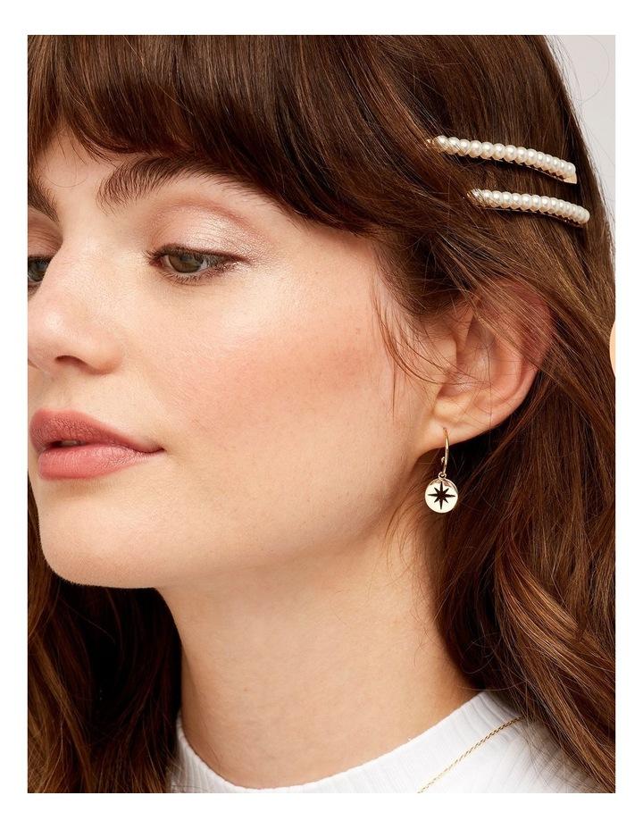 Starburst Drop Earrings image 2
