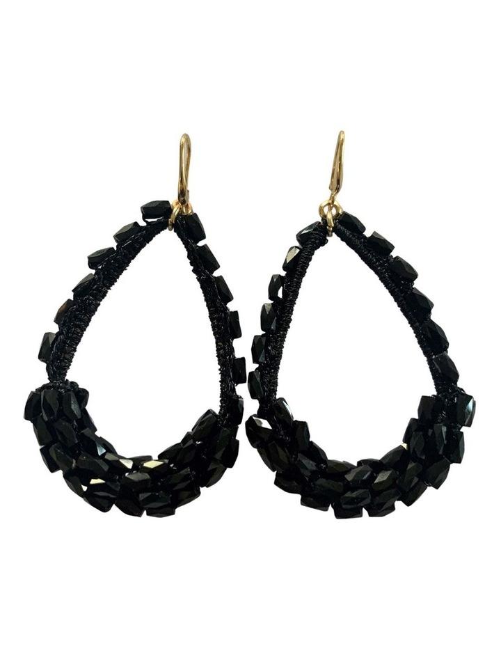 Beaded Teardrop Earrings image 1