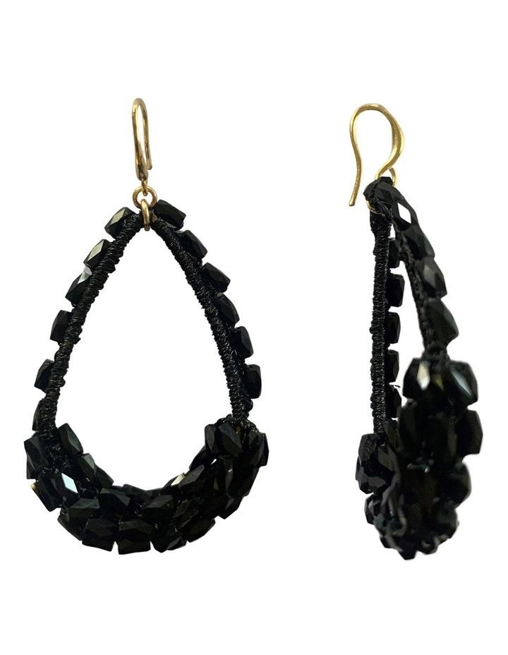 Beaded Teardrop Earrings image 2