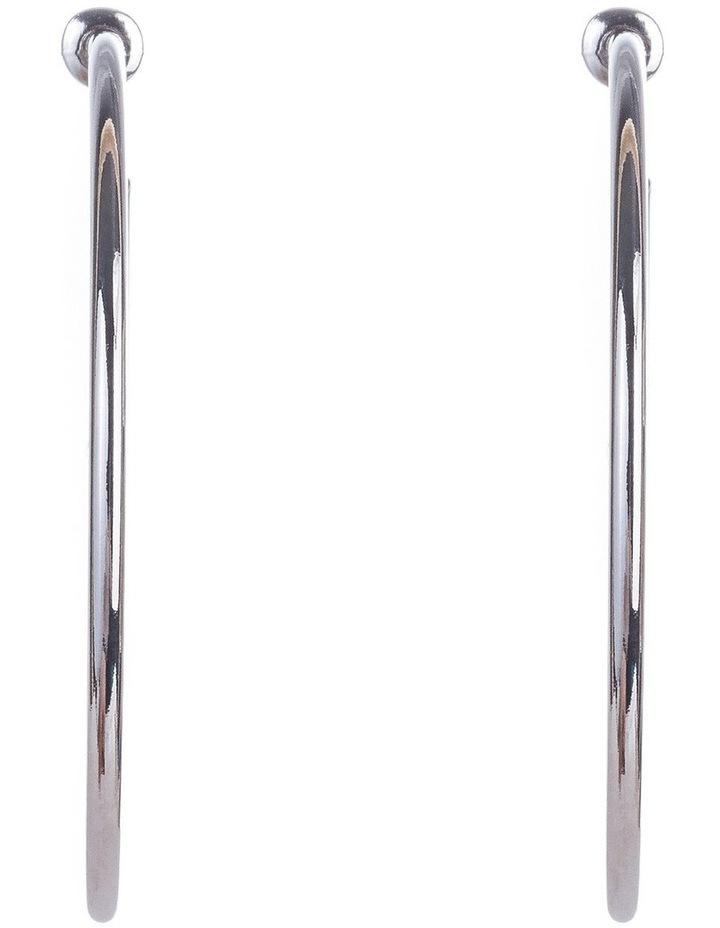 Large Metal Hoops image 2