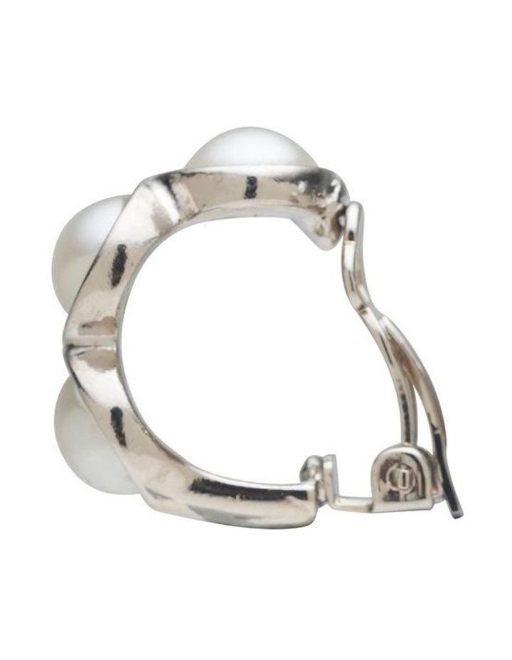 Trio Detail Clip Earrings image 3