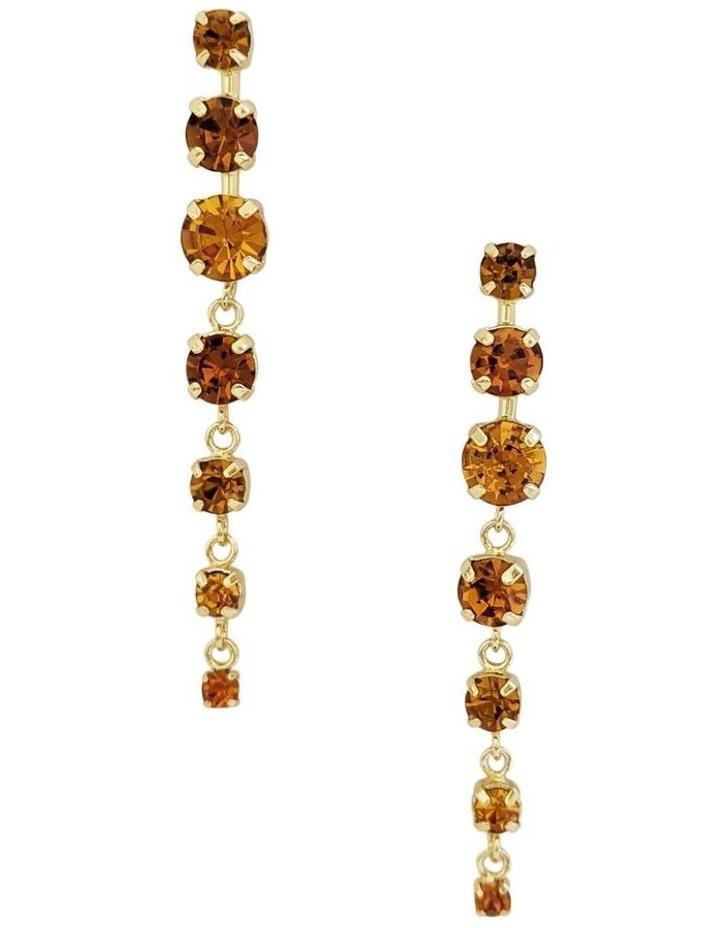 Hazel Yellow Drop Earrings image 1