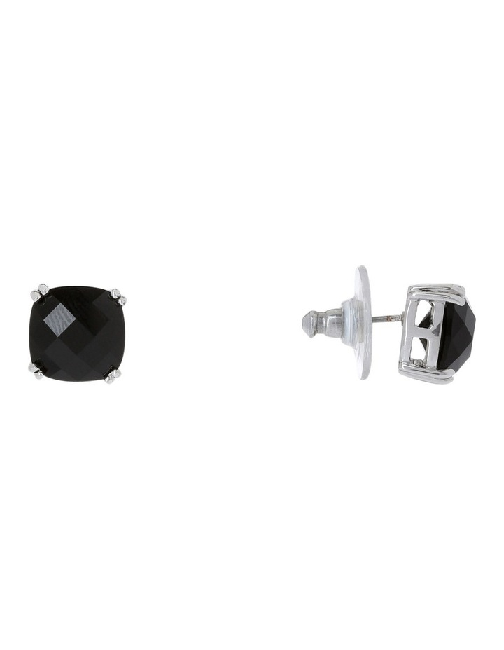 Square stud earrings image 4
