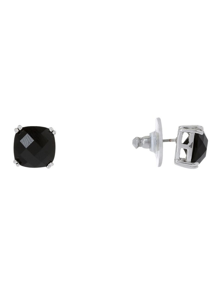 Square stud earrings image 3