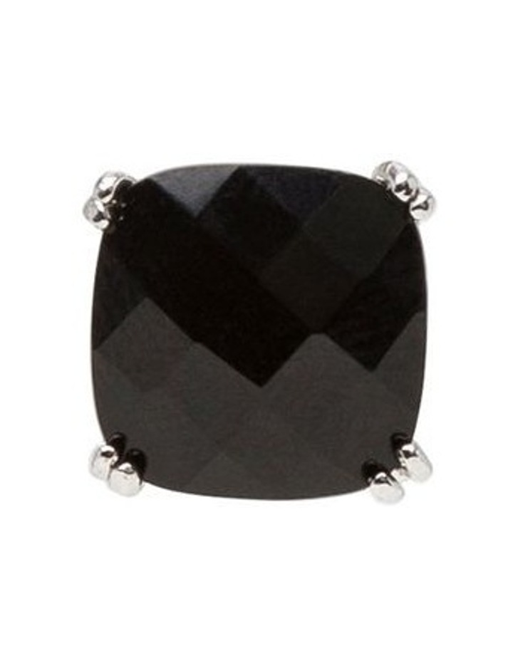 Square stud earrings image 5
