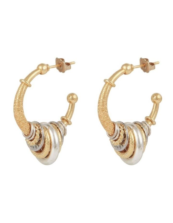 Maranzana Gold Hoop Earrings image 1