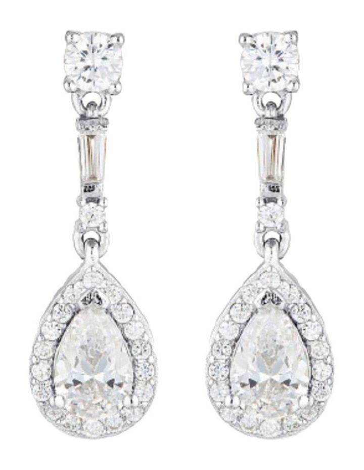 Lenna Silver Drop Earrings image 1