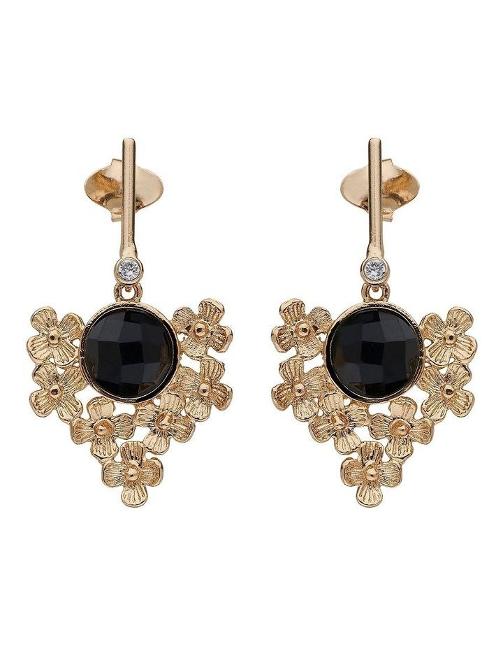 Chloe Gold Drop Earrings image 1