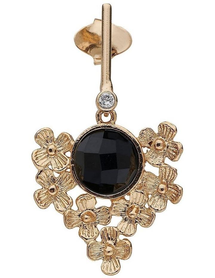 Chloe Gold Drop Earrings image 2