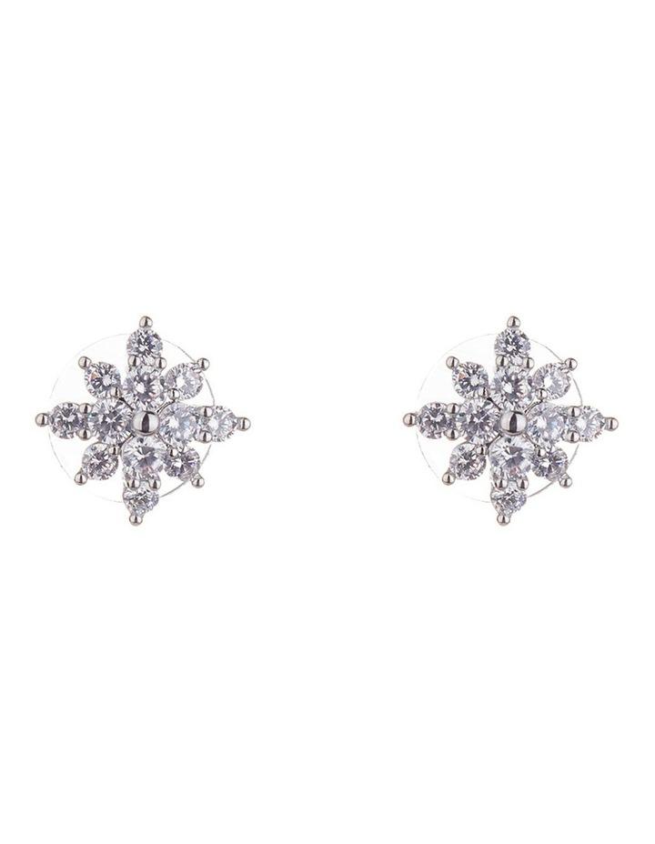 Stone Starburst Stud Earring image 1