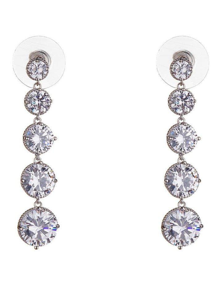 Statement Round Drop Earring image 1