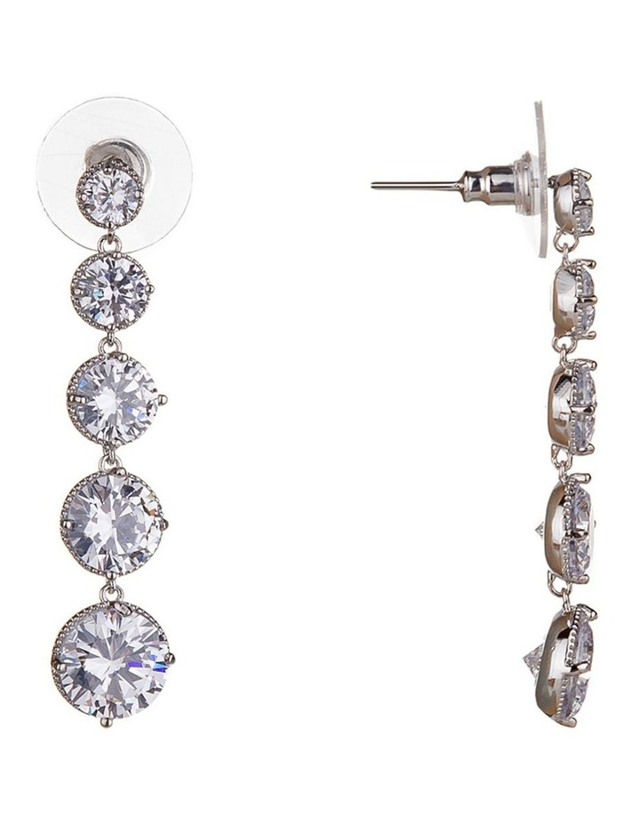 Statement Round Drop Earring image 2