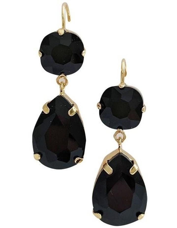 Stella Black Earring image 1