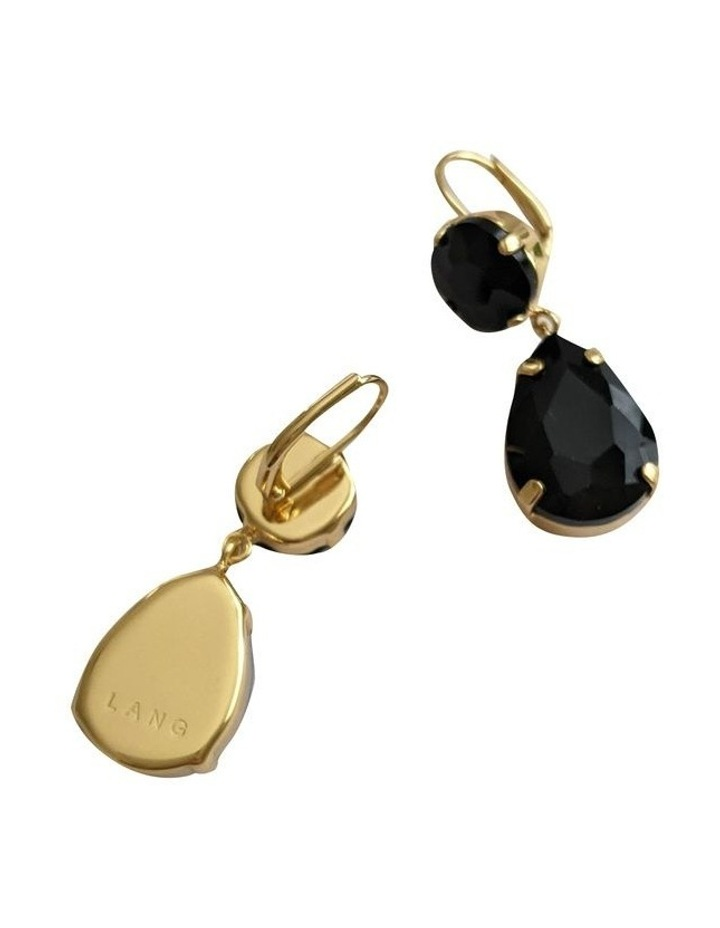 Stella Black Earring image 2